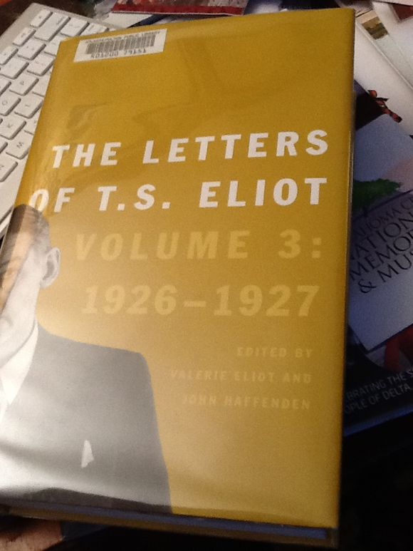 T.S. Eliot's Turning Point