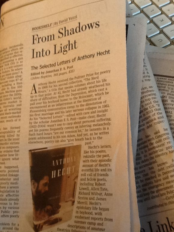 Wall Street Journal's Book Reviews a Daily Treat