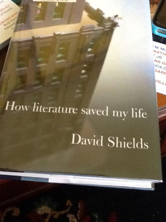 David Shields' After Glow