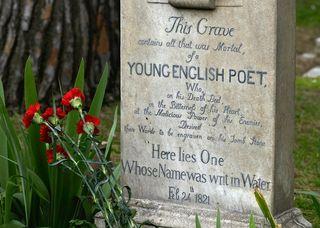John-keats-tomb